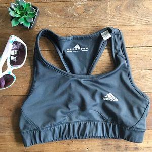 Adidas Gray Activewear Sports Bra Top -M